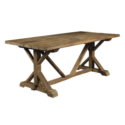 Padma S Plantation Xena Reclaimed Outdoor Teak Dining Table