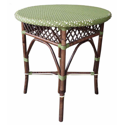 Paris Bistro Green Dining Table