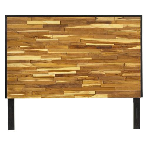 Reclaimed Wood Queen Headboard