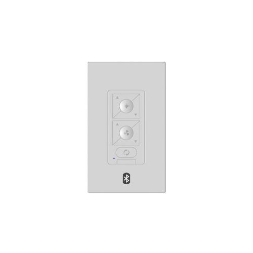 6-Speed Bluetooth Ceiling Fan Wall Control with Single Pole Wallplate