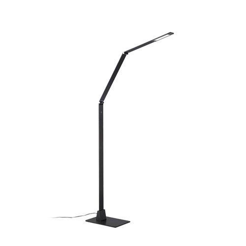 Modern Forms Flat Black 39-Inch LED Floor Lamp