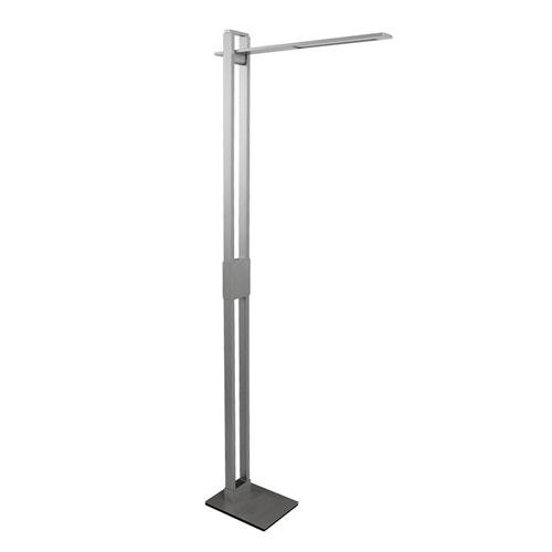 Suspension Titanium Five-Inch LED Floor Lamp