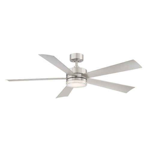 Wynd Stainless Steel 60-Inch ADA LED Ceiling Fan