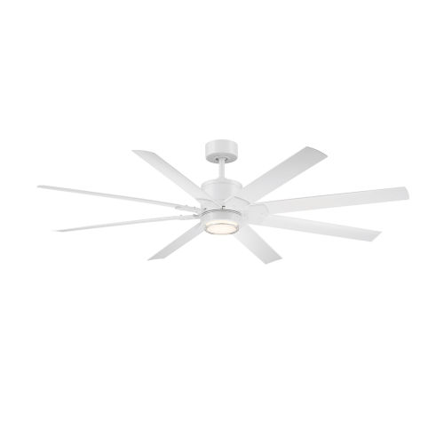 Renegade Matte White 52-Inch ADA LED Ceiling Fan, 3500K