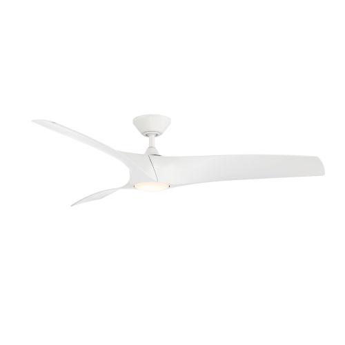 Zephyr Matte White 52-Inch ADA LED Ceiling Fan