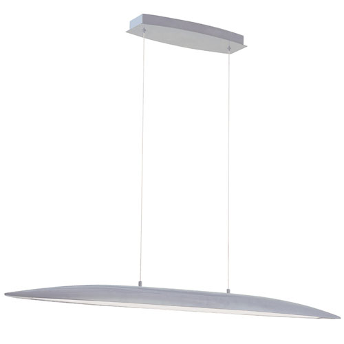 Modern Forms Davos Titanium 45-Inch LED Linear Pendant