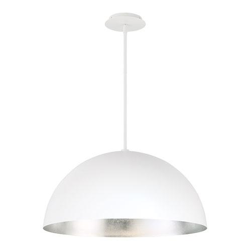 Yolo Silver Leaf 26-Inch LED Pendant