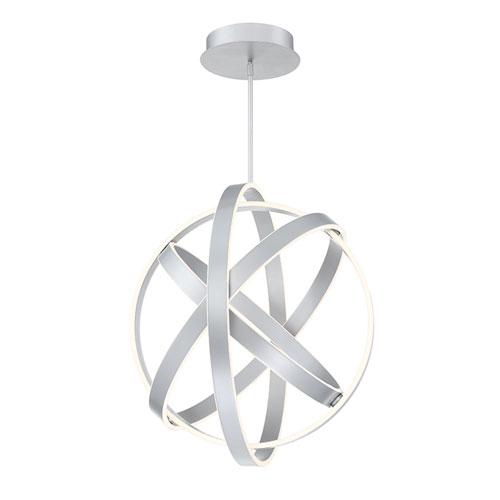Kinetic Titanium 28-Inch LED Pendant