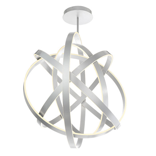 Modern Forms Kinetic Titanium 60-Inch LED Chandelier