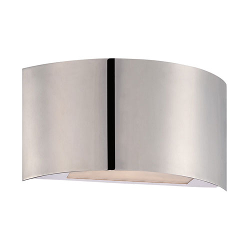 Modern Forms Vermeil Polished Nickel 10.5-Inch LED Wall Sconce