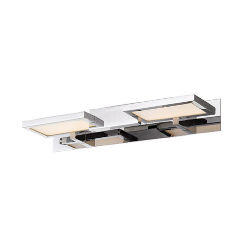 Modern Forms Pixel Chrome 19-Inch LED Bath Light