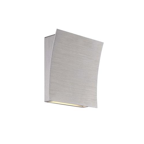 Modern Forms Slide Brushed Aluminum 10-Inch LED Wall Sconce