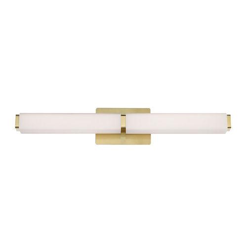 Vogue Brushed Brass 38W 3500K LED ADA Bath Bar
