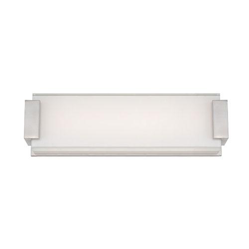 Modern Forms Polar Brushed Nickel 18-Inch LED Bath Light