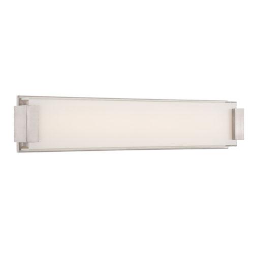Modern Forms Polar Brushed Nickel 26-Inch LED Bath Light
