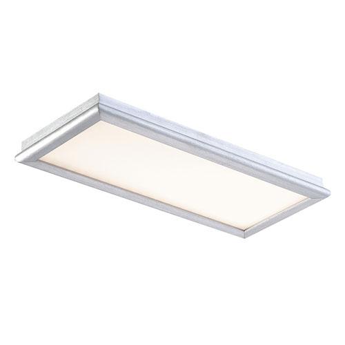 Neo Brushed Aluminum 12-Inch LED Bath Light