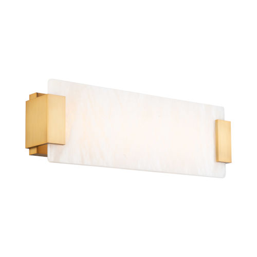 Quarry Aged Brass 18-Inch LED Bath Vanity