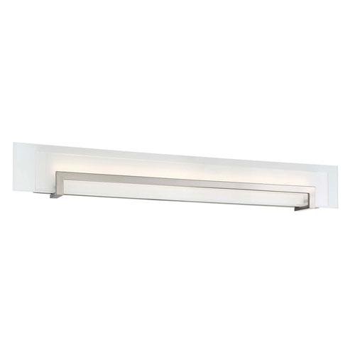 Margin Satin Nickel 38-Inch LED Bath Light