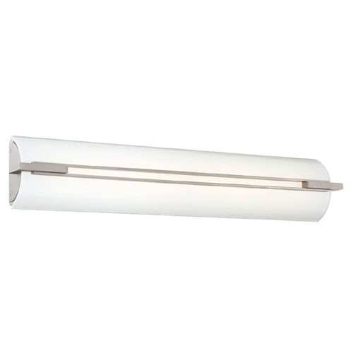 Modern Forms Stencil Satin Nickel Five-Inch LED Bath Light