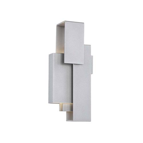Escher Titanium 6-Inch LED Wall Sconce