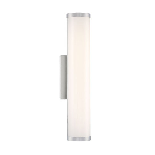 Lithium Brushed Aluminum 5-Inch LED Outdoor Wall Light