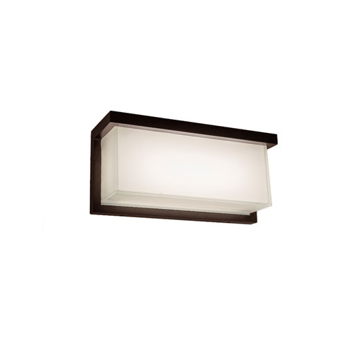 Ledge Bronze 12-Inch LED Outdoor Wall Light