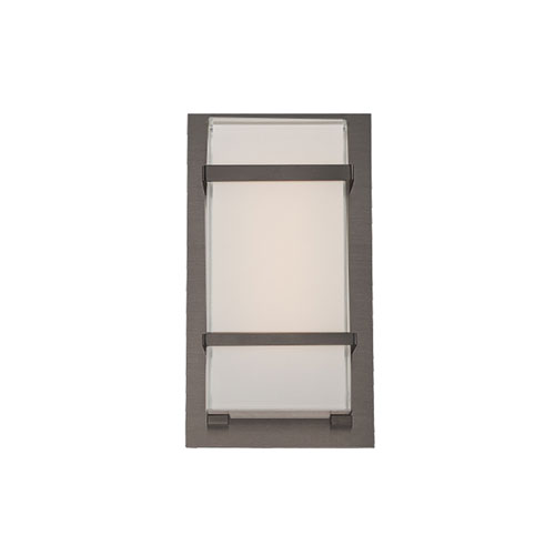 Modern Forms Phantom Graphite 6-Inch LED Outdoor Wall Light