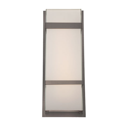Modern Forms Phantom Graphite 8-Inch LED Outdoor Wall Light
