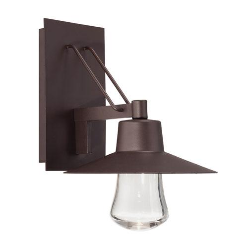 Suspense Bronze 10-Inch LED Outdoor Wall Light