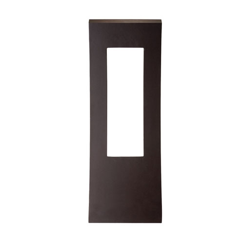 Modern Forms Dawn Bronze 9-Inch LED Outdoor Wall Light