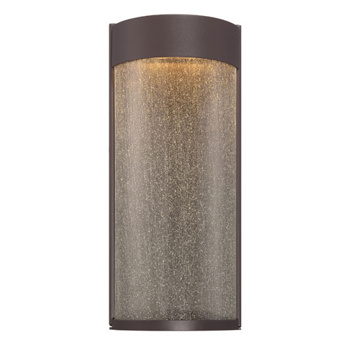 Modern Forms Rain Bronze 7-Inch LED Outdoor Wall Light