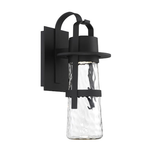 Balthus Black 11-Inch LED  Outdoor Wall Light