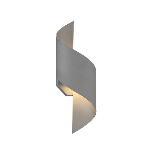 Modern Forms Helix Graphite 6-Inch LED Outdoor Wall Light