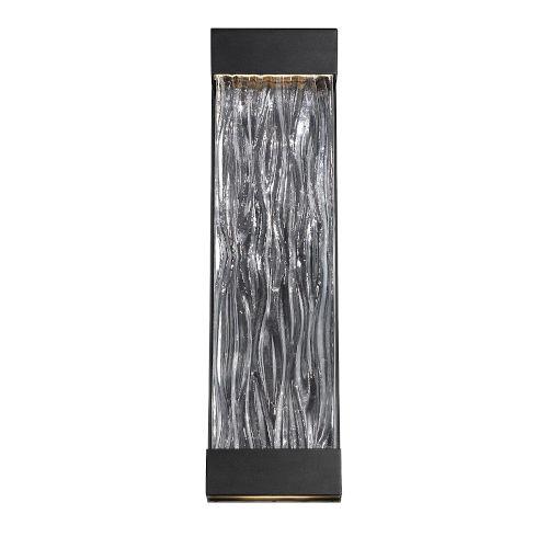 Fathom Black 16-Inch LED ADA Outdoor Wall Light