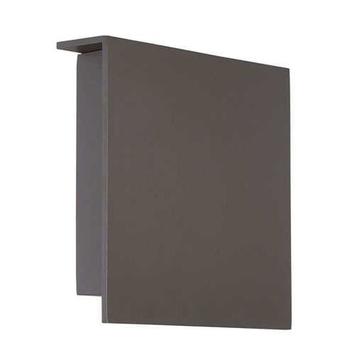 Modern Forms Square Bronze 10-Inch LED Outdoor Wall Light