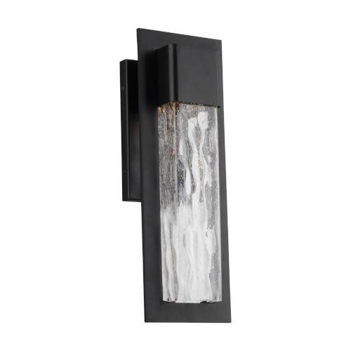 Mist Black 16-Inch LED Outdoor Wall Light