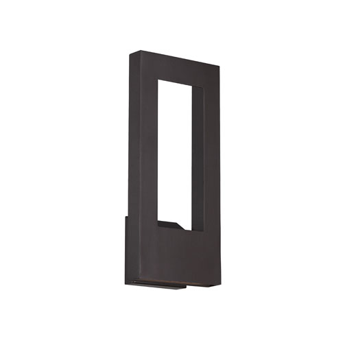 Modern Forms Twilight Bronze 7-Inch LED Outdoor Wall Light