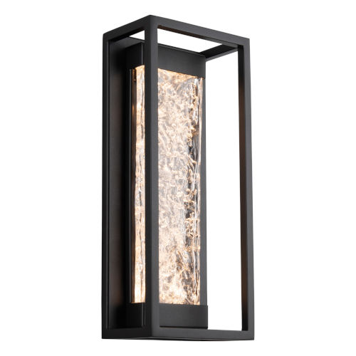 Elyse Black 17-Inch LED Outdoor Wall Light