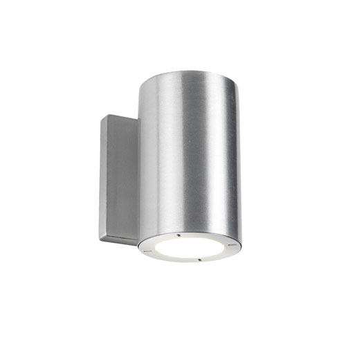 Modern Forms Vessel Brushed Aluminum 3.5-Inch LED Outdoor Wall Light