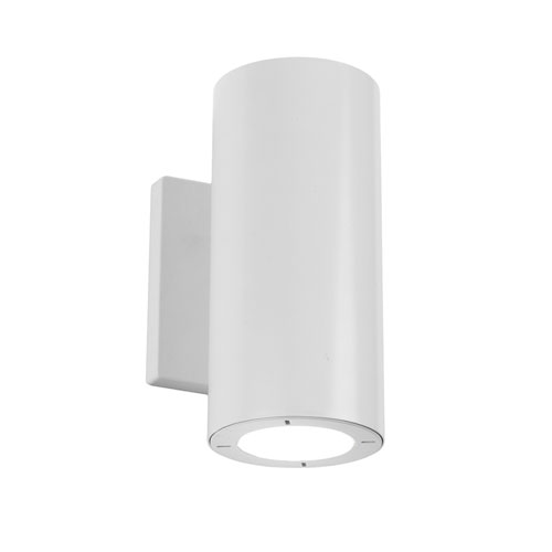 Modern Forms Vessel White 3.5-Inch LED Outdoor Wall Light