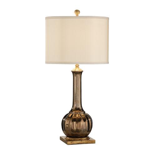 Bronze and Antique Silver One-Light 7-Inch Santa Clara Wedding Lamp