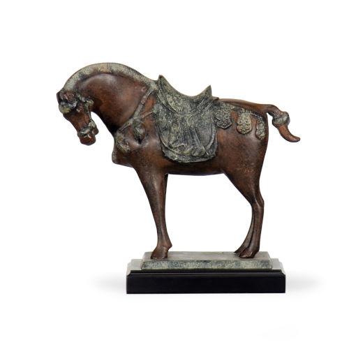 Black 11-Inch Tang Horse