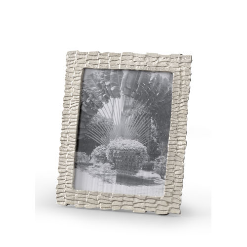 Silver 10-Inch 8 x 10-Inch Shingles Photo Frame