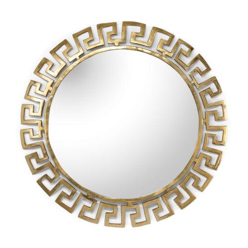 Gold 40-Inch Large Athena Mirror
