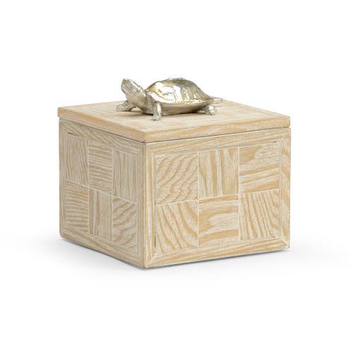 White 6-Inch Tortoise Box