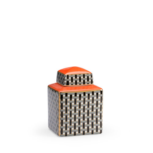 Gray 9-Inch Grayson Canister