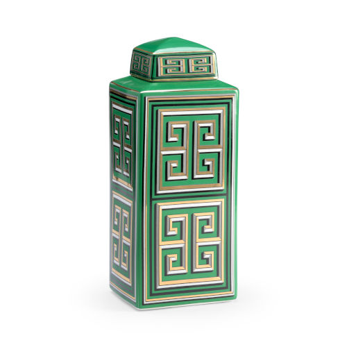 Green 14-Inch Jada Canister