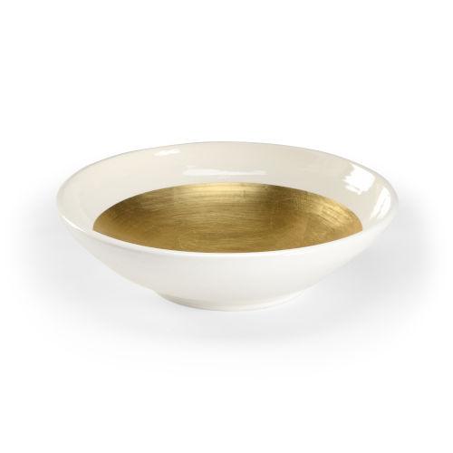 White 15-Inch Ritrovo Bowl