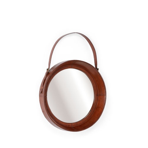 Brown 21-Inch Small Taner Mirror