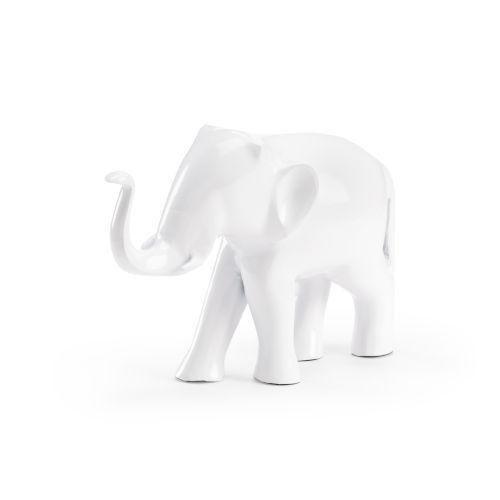 White 16-Inch Small Eleblanca